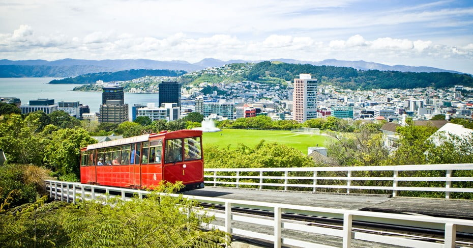 Cable Car, Wellington.
