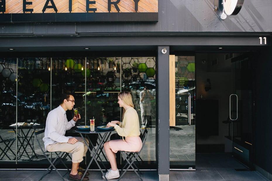 Egmont Street Eatery, Wellington, New Zealand.