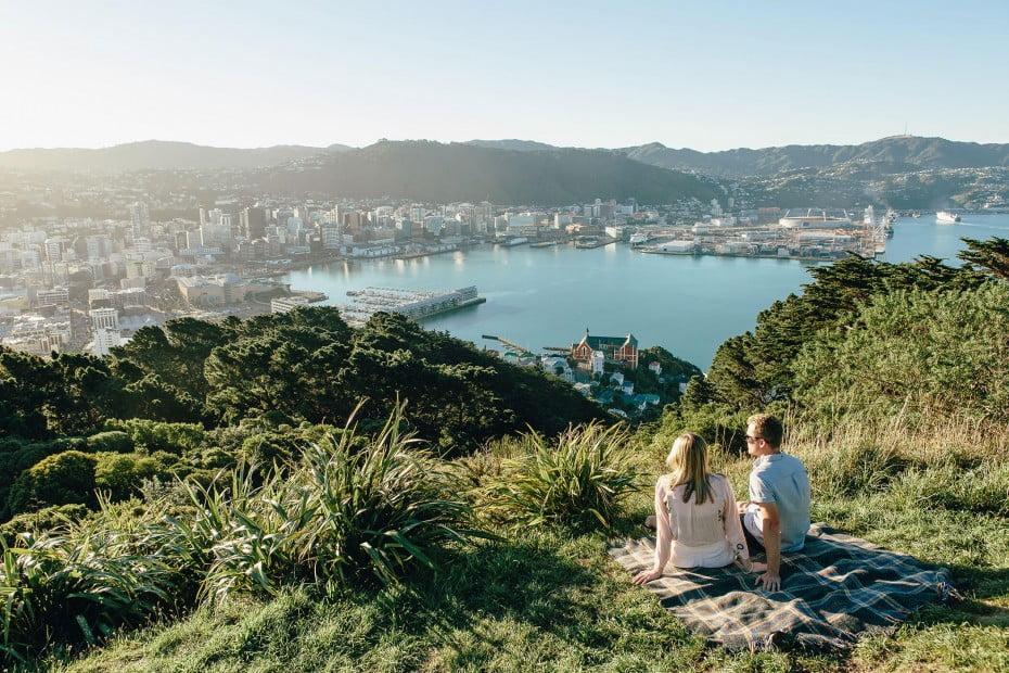 Mt Victoria, Wellington, New Zealand.