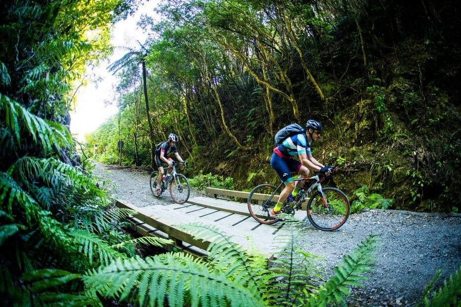 Remutaka Rail Trail, Wellington, New Zealand.