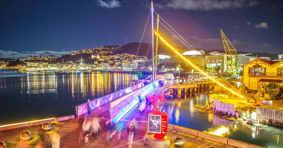 LUX Light Festival - Wellington, New Zealand.