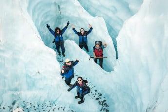 Fox Glacier, West Coast, New Zealand.
