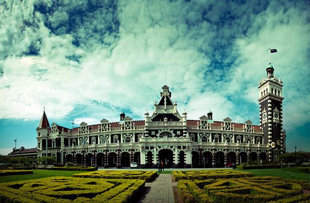 Railway Station, Dunedin, New Zealand