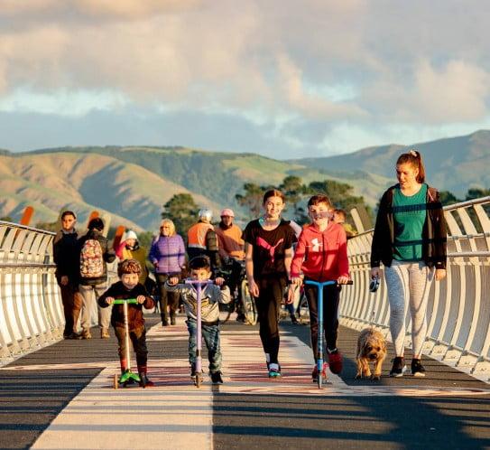 NZ Palmerston North - kinds on the He Ara Kotahi network