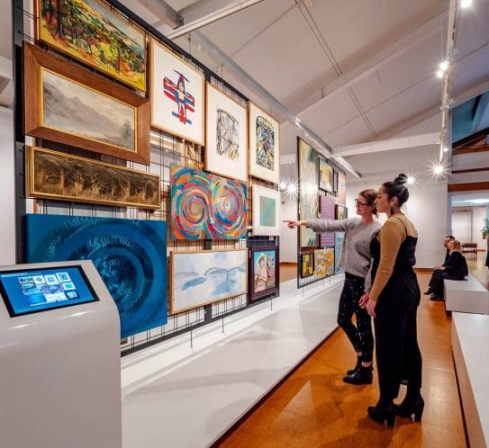 NZ Palmerston North - Te Manawa Art Gallery
