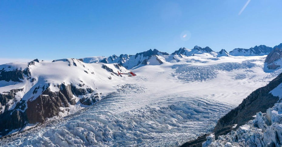 Scenic helicopter tour, Fox Glacier, West Coast, NZ