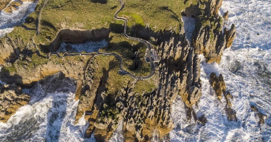 Punakaiki Pancake Rocks, West Coast, NZ