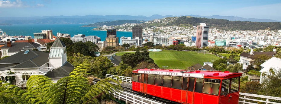 Cable car, Wellington, NZ.