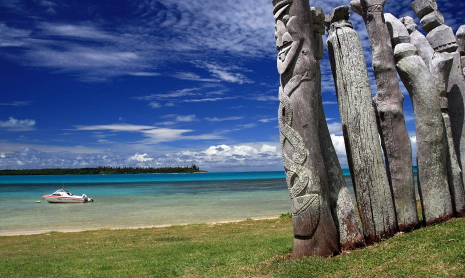 Totems from Isle of Pines, New Caledonia.