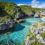 Niue swimming spot, Niue, Pacific Islands