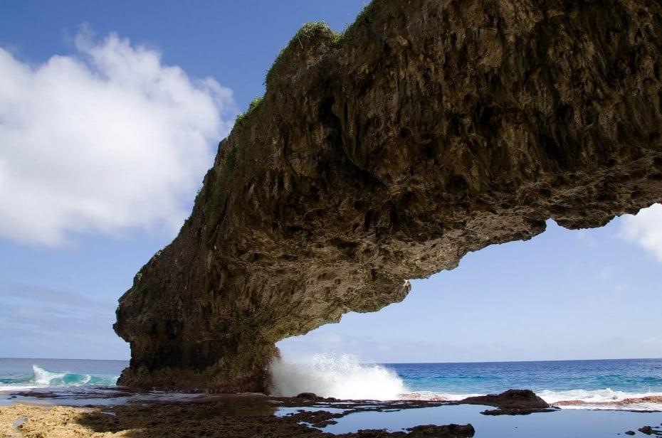 Talava arch, Niue.