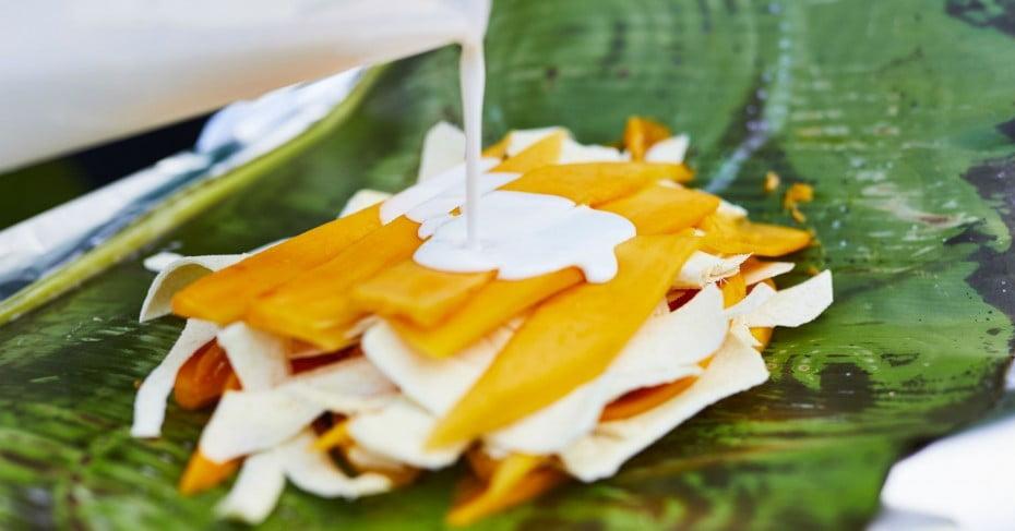 Traditional Fruit Dessert, Niue.