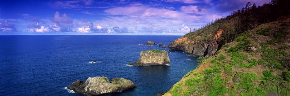 Captain Cook Lookout, Norfolk Island.