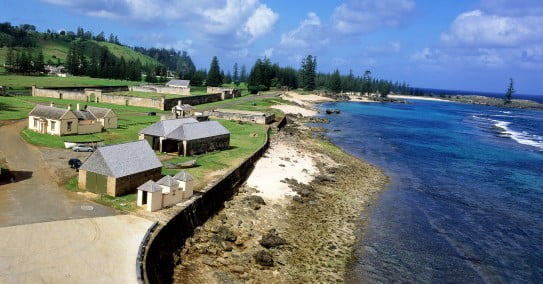 Kingston, Norfolk Island.