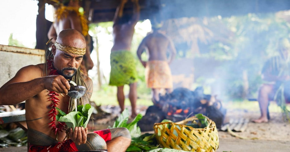 Samoa cultural village.