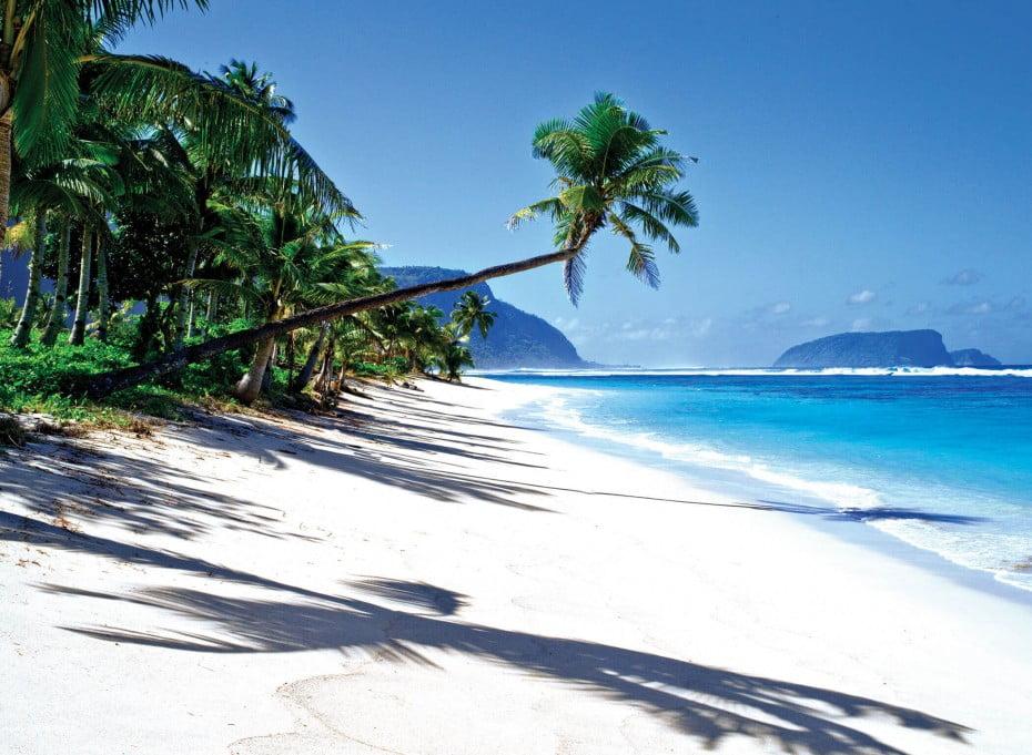 Palm beach, Samoa.