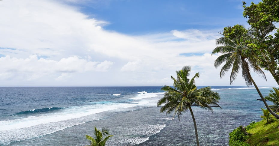 Surf breaks in Samoa