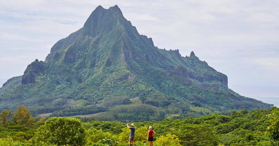 Tahitian mountain