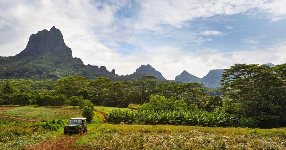 Off road tour in Tahiti