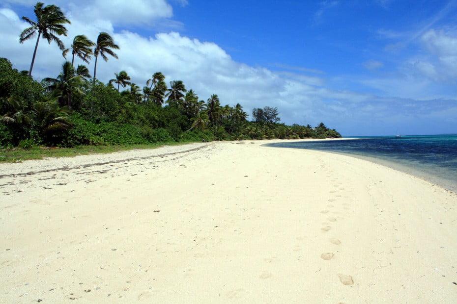 Fafa beach, Tonga.