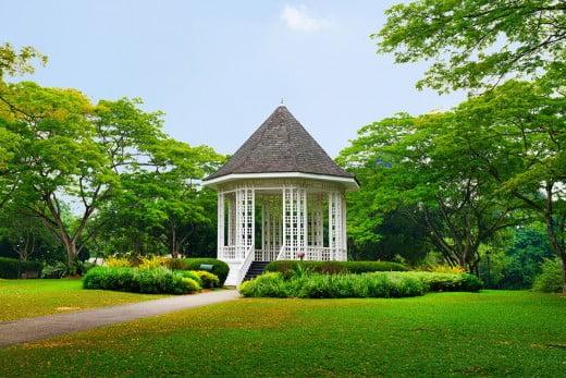Botanic Garden, Singapore.