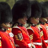 The Queen's Guards, London, UK.