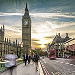 Houses of Parliament & Big Ben, London, UK