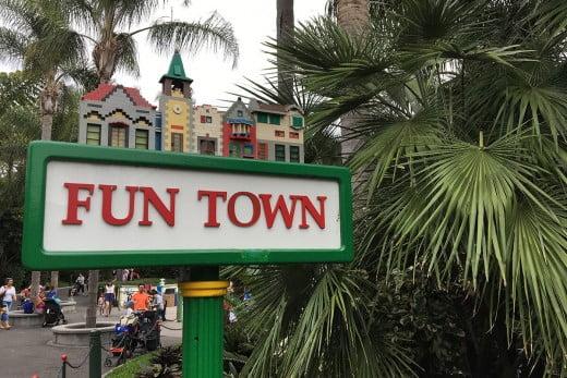 Fun Town, Legoland, Carlsbad, California, United States.