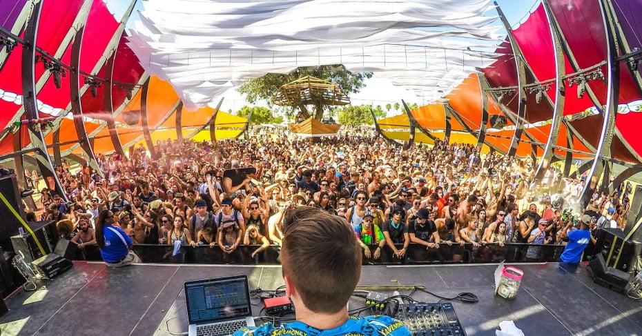 Coachella Valley Festival, California, United States.