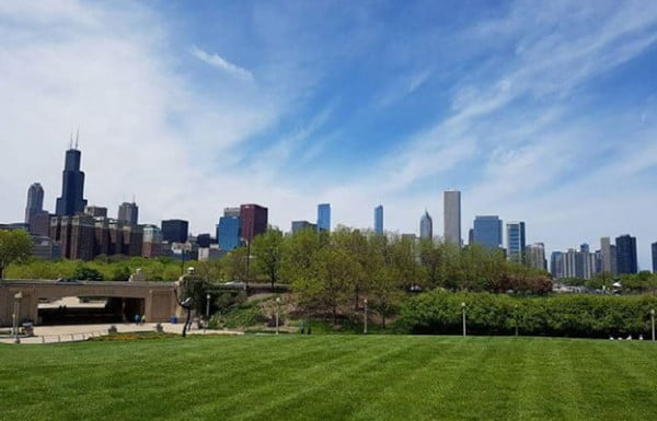 Millennium Park, Chicago, United States.