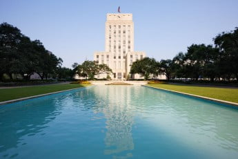 City Hall, Houston, USA.