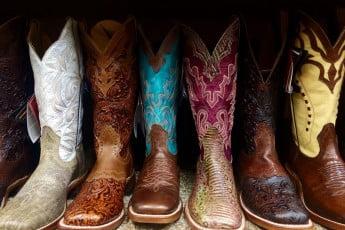 Cowboy boots, Houston, USA.