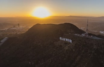 Hollywood Sign, Mount Lee, Los Angeles.