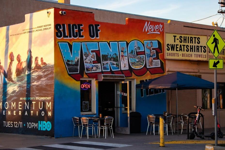 Slice of Venice Mural, Venice, Los Angeles