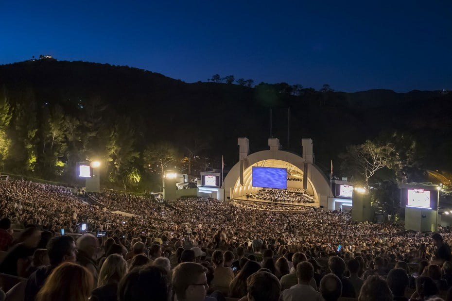 The Hollywood Bowl, Los Angeles