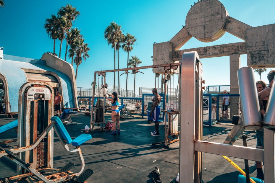 Muscle Beach, Venice, Los Angeles