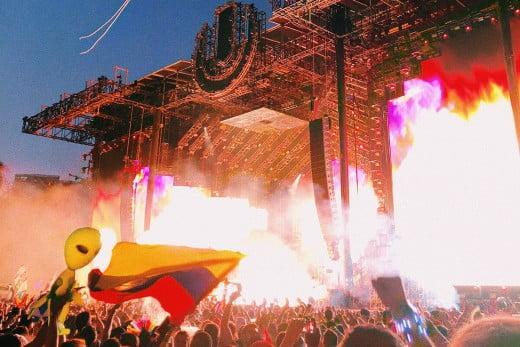 Ultra Music Festival, Miami, United States.