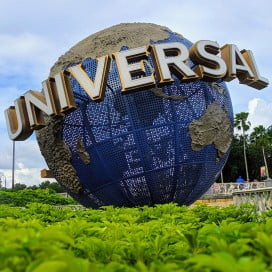 Globe, Universal Studios, Orlando, United States.