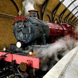 Hogwarts Express, Universal Studios, Orlando, United States.
