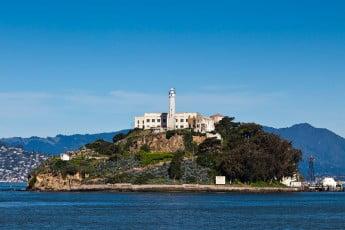 Alvatrez Island, San Francisco, USA.