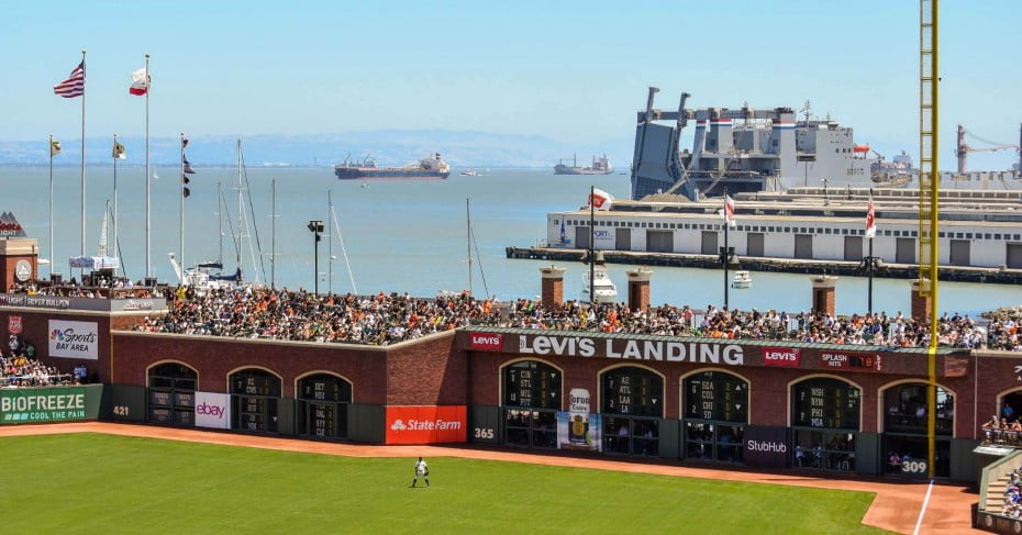 Oracle Park, San Francisco, United States.