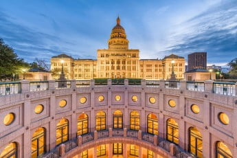 Capitol Building, Austin, Texas, USA.