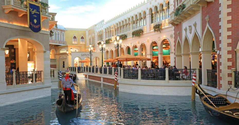 The Grand Canal Shoppes, Las Vegas
