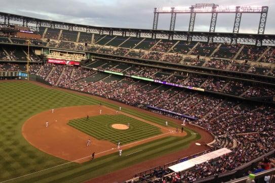 Coors Field, Denver, USA.