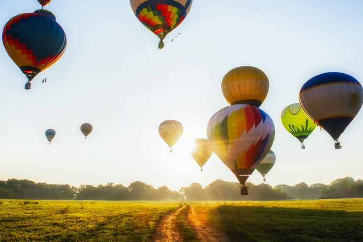 Houston, USA hot air balloons