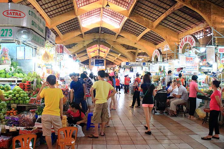 Ben Thanh Market, Ho Chi Minh City, Vietnam.
