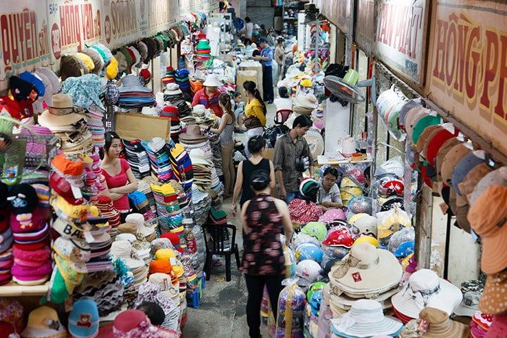 Binh Tay Market, Chinatown, Ho Chi Minh City, Vietnam.