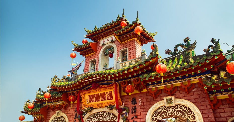 Phuc Kien Pagoda, Old Town, Hoi An, Vietnam.
