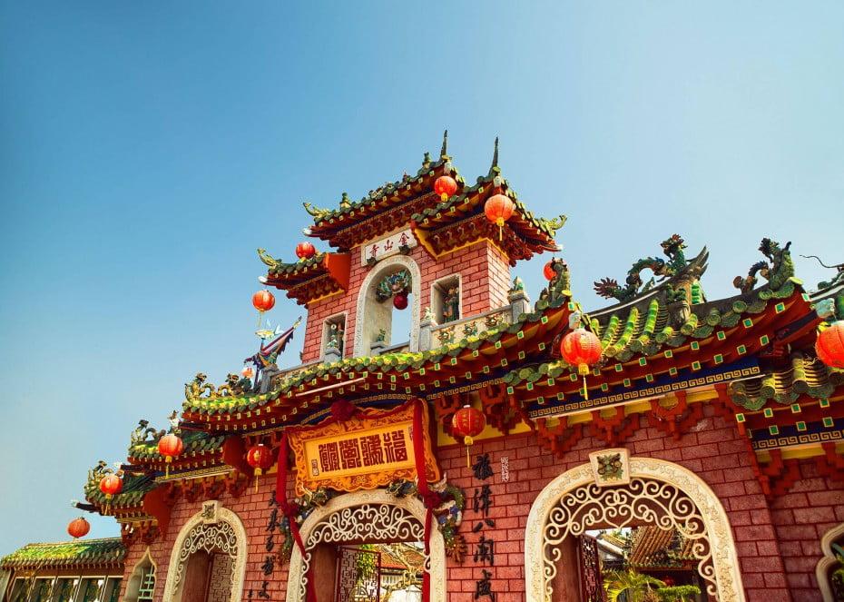 An Quan Cong Temple, Vietnam.