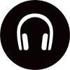 Air New Zealand headphones icon.